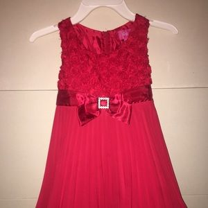 Girl's special occasion holiday dress size 5